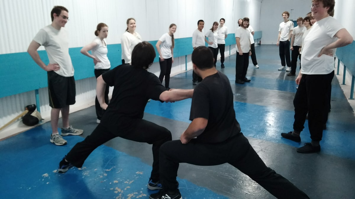 Teaching at The Vanguard Centre