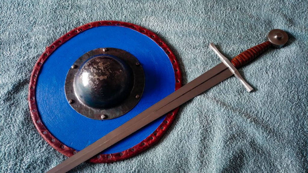 HEMA in Glasgow: Sword and buckler classes at the Vanguard Centre.